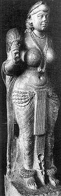 Didarganj Yakshi from 3rd/2nd century B.C
