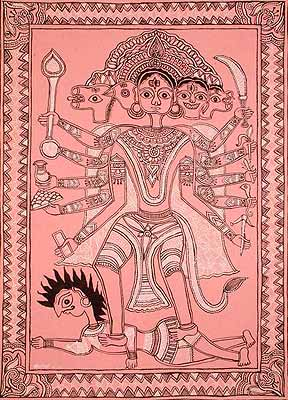 Five Headed Hanuman
