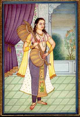 The Sadhika or the Woman Dedicated to Practising Music
