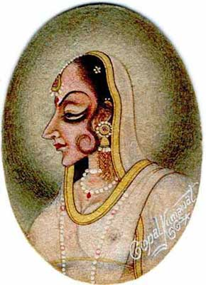 Radha as Bani Thani