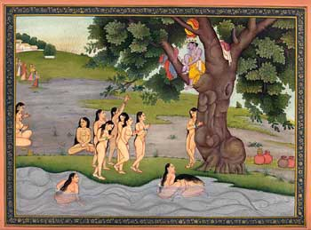 Chir - Harana (The Stealing of the Garments of the Gopis)