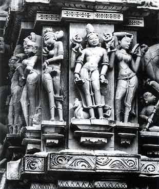 Erotic Sculptures from Khajuraho