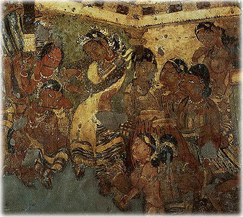 The Tempting of Mahajanaka.