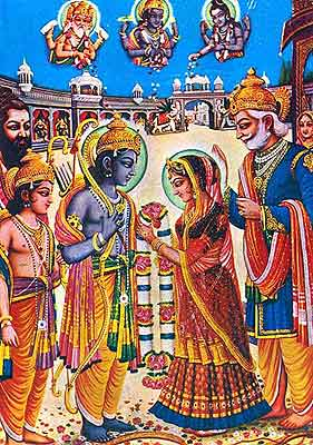 The Marriage of Sita and Rama