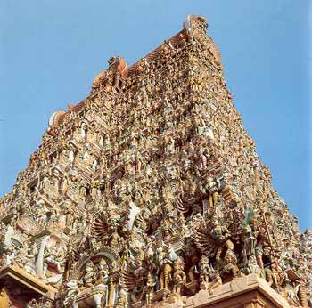 Minakshi Temple at Madurai