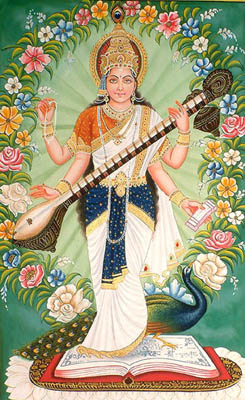 Saraswati: Goddess of Knowledge and Arts