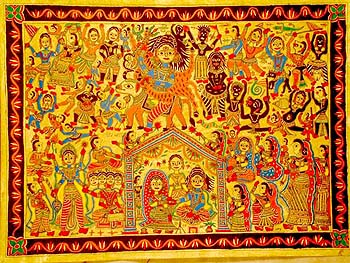 Marriage of Shiva and Parvati