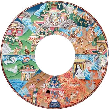 The Wheel of Life - Aesthetics of Suffering and Salvation