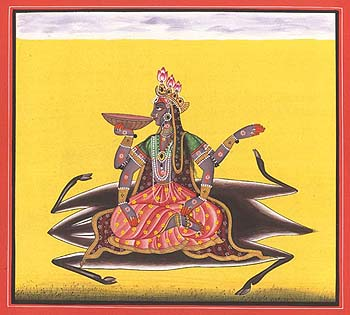 Tantric Devi Series - Kalaratri - The Cosmic Night