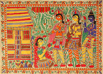 The Salvation of Ahilya (An Episode from The Ramayana)