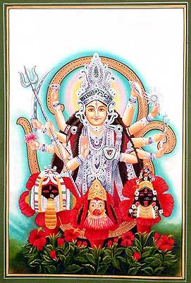 Devi the Mother Goddess