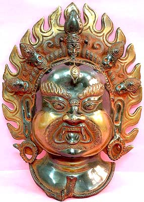The Night of Compassion - Mahakala Mask