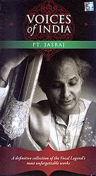 Voices of India: Pt. Jasraj - A Definitive Collection of the Vocal Legend's Most Unforgettable Works (Set of 4 Audio CDs)