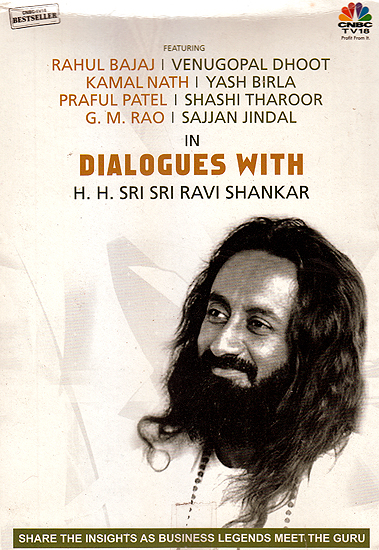 Dialogues With H.H. Sri Sri Ravi Shankar (Set of 4 VCDs)