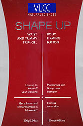 Shape-Up Waist And Tummy Trim Gel Body Firming Lotion