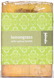 Fabindia Organic Lemongrass With Natural Loofah (Bathing Bar)