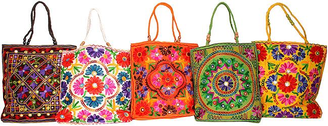 5 индийских сумочек