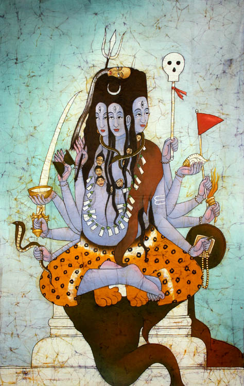 Panchanana Or Five Headed Shiva