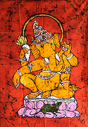 Lord Ganesha the Auspicious