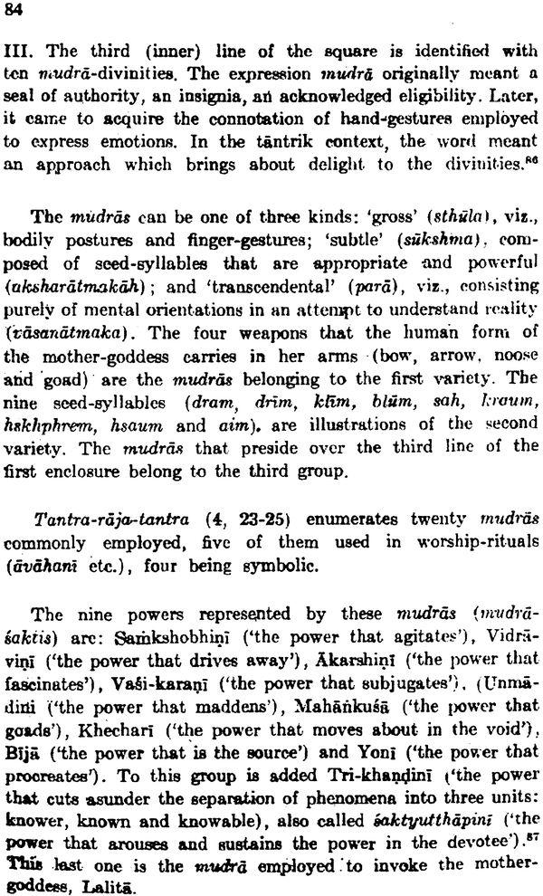 the tantra of sri chakra pdf