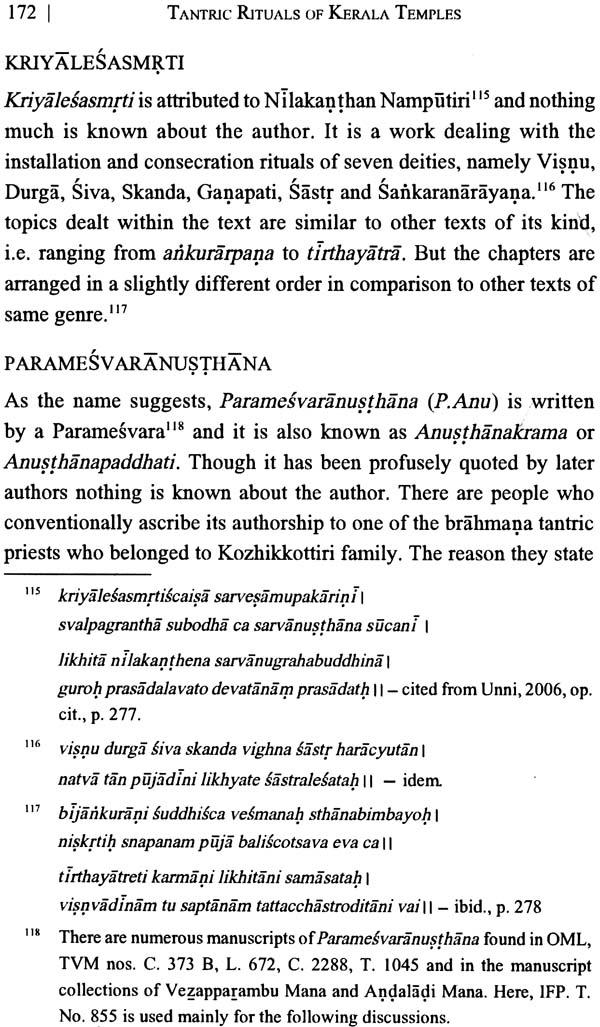 Tantric Rituals of Kerala Temples  Tantric Rituals...