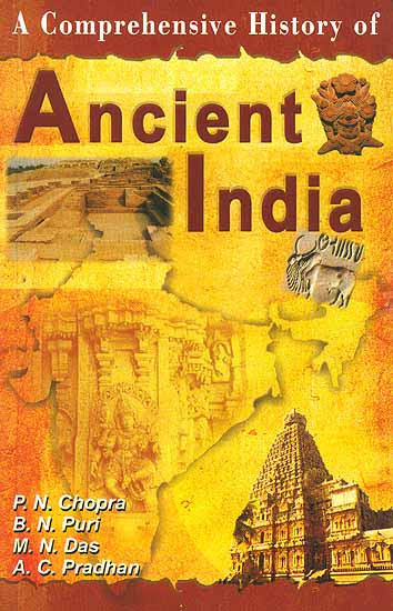 Book Cover Art History : A comprehensive history of ancient india