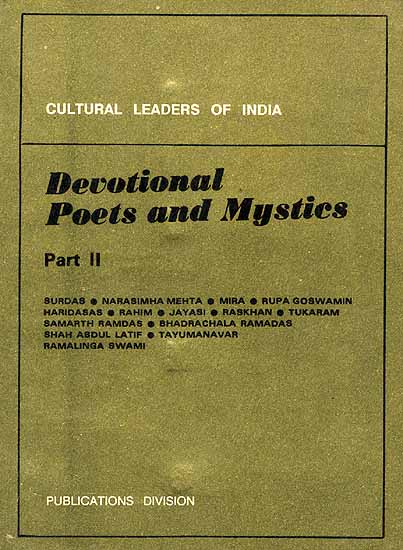 Cultural Leaders of India: Devotional Poets And Mystics Part II