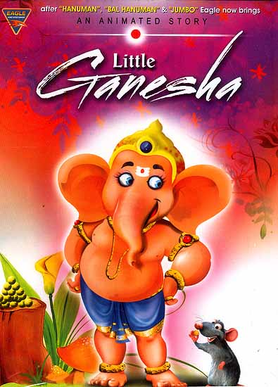 Little Ganesha (An Animated Story DVD Video with English Subtitles)