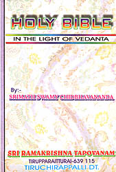 Holy Bible (In The Light of Vedanta)
