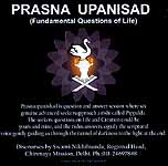 Prasna Upanisad (Fundamental Questions of Life) (MP3 Audio CD)