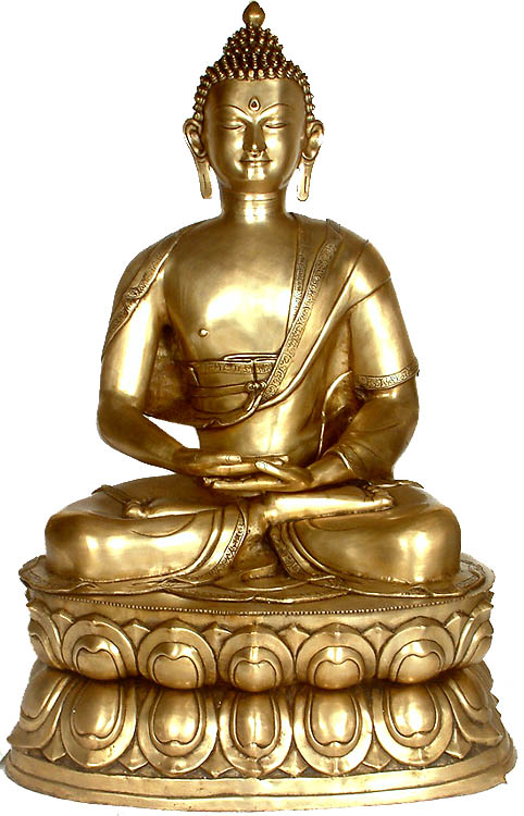 Large Size Buddha In Dhyana Mudra