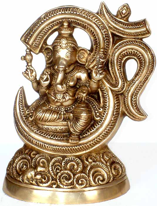 Ganesha Within Aum