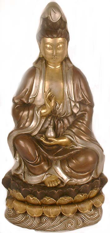 Kuan Yin The Chinese Goddess Of Compassion