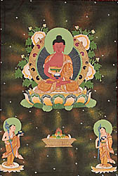 Thangka Paintings of Gautam Buddha