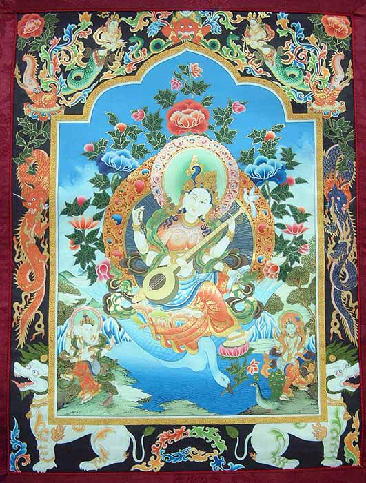 Saraswati, The Goddess of Learning