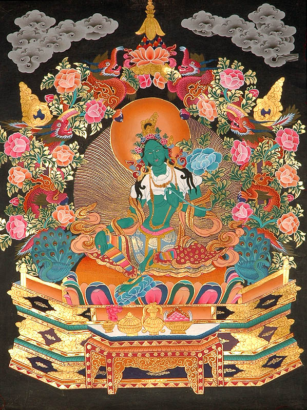 Goddess tara buddhist savior