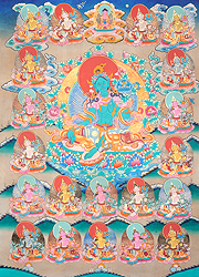 Tara As Praised in Twenty-One Verses