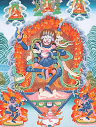 Simhavaktra: Lion Faced Dakini