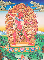 Ekajati, The Protector of Mantras Who Has Only One Breast (The Most Powerful Goddess in the Buddhist Pantheon)