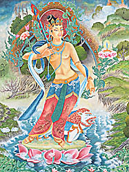 Ever Graceful Manjushri