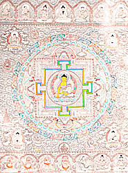 The Mandala of Buddha Shakyamuni