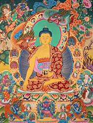 The Temptation of Shakyamuni Buddha by Mara