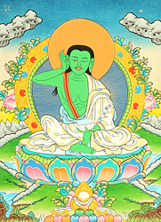 Milarepa Wearing the Meditation Belt
