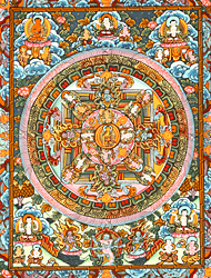 The Mandala of Shakyamuni Buddha