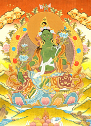 Savior Goddess Green Tara