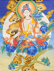 A Fine Portrait of Goddess White Tara