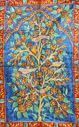 Tree of Life Embroidered Asana