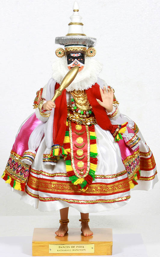 DANCES OF INDIA, Kathakali (Hanuman)