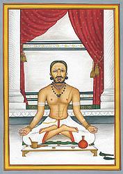 A Brahmin Doing Sandhya Vandanam