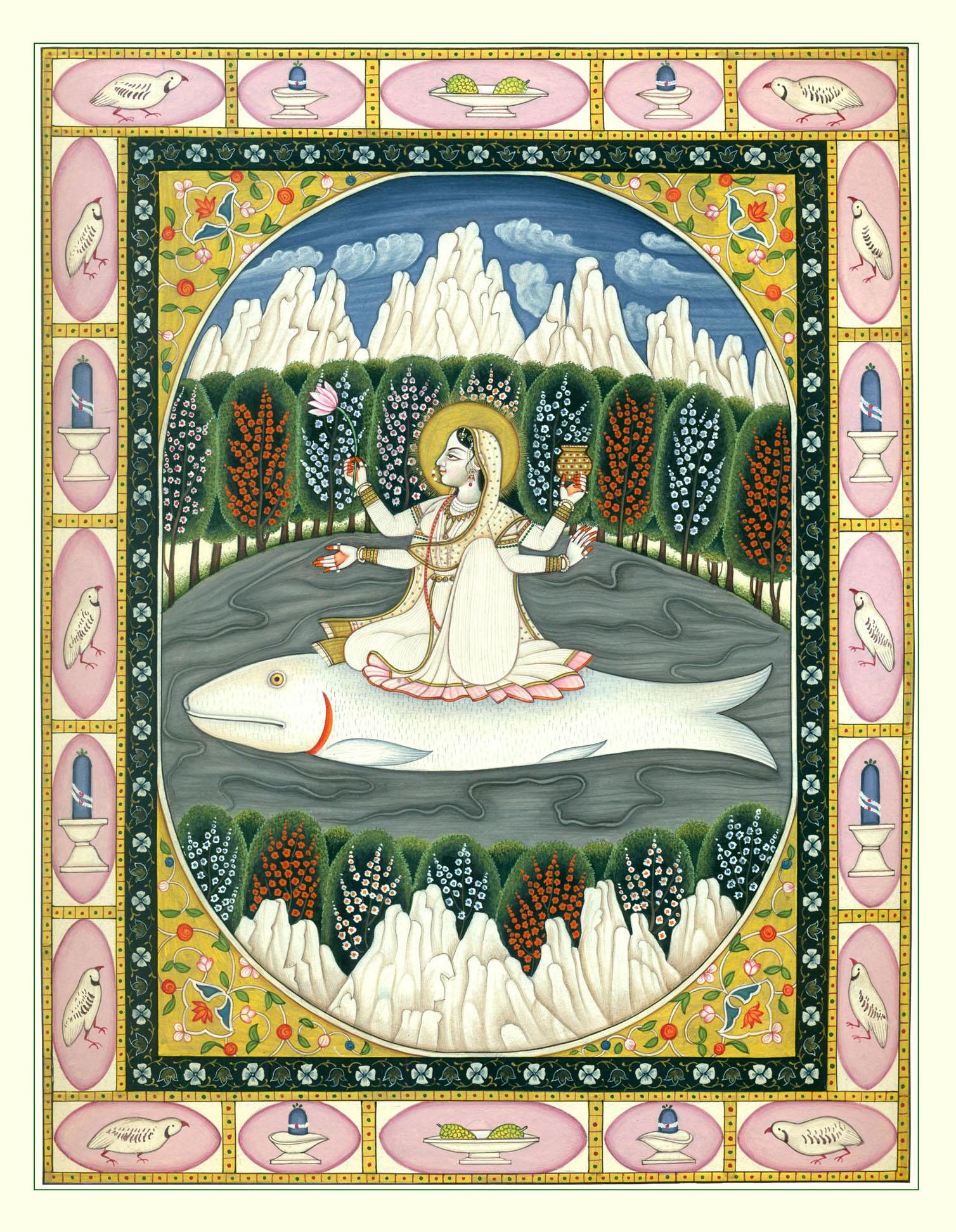Purity and Divinity (Goddess Ganga)